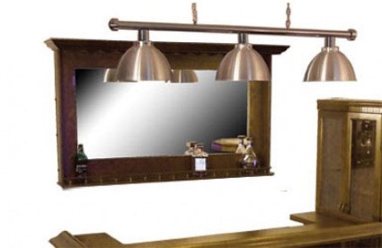 BM0196-WA: Lexor Spiegel walnut #1