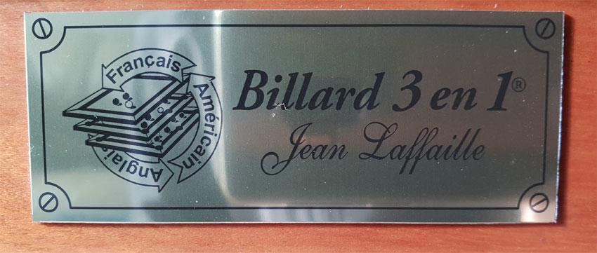 CB0135-OC: Occasion combinatie biljart Jean Laffaille Chateau  #5