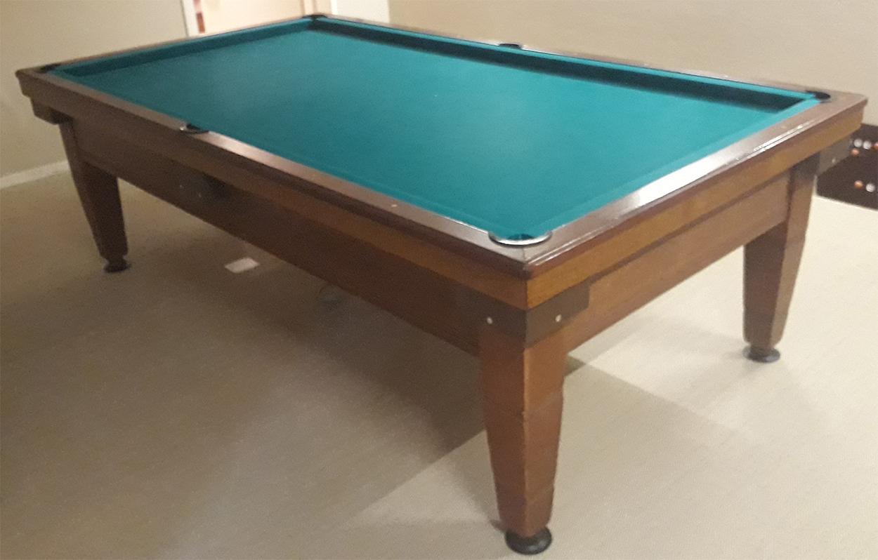 CB0150-OC: Occasion De Schepper 230 wedstrijd carambole biljart & pool combinatie #1