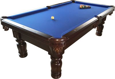 Occasion combinatiebiljart Lexor Majestic Dark Cherry 8ft, Pool, Carom & Snooker!