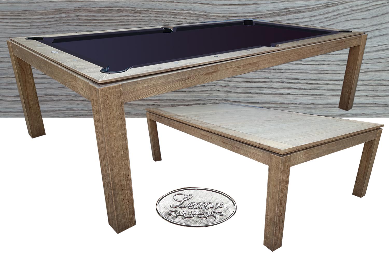 CB0232-7: combinatiebiljart Lexor Dinner Design Vintage Oak #1