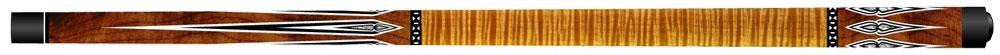 CK0272: Artemis Mister 100 ® model curly maple bruin met punten #1