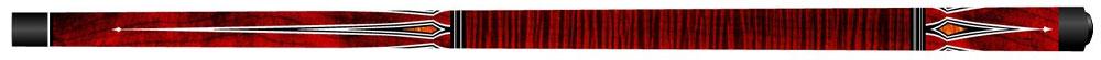 CK0273: Artemis Mister 100 ® model curly maple rood met punten #1