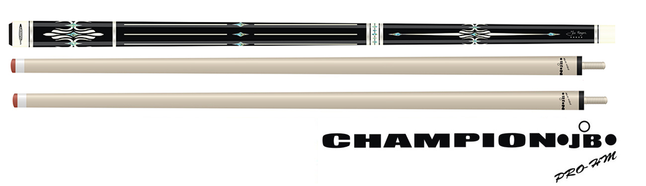 CK0442: Jos Bongers Pro 5-Star model Athos Extended 3-Cushion, 2 shafts #1