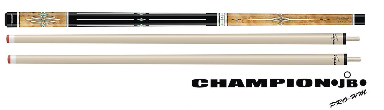 CK0446: Jos Bongers Pro 5-Star model Porthos 3-Cushion, 2 shafts #1