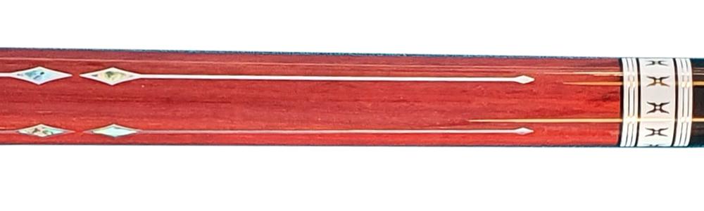 CK0448: Jos Bongers Pro 5-Star model Aramis Extended 3-Cushion, 1 shaft #4