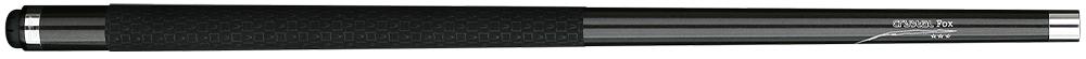 CK0765-CM: Longoni  Crystal Fox ALCANTARA BLACK #1