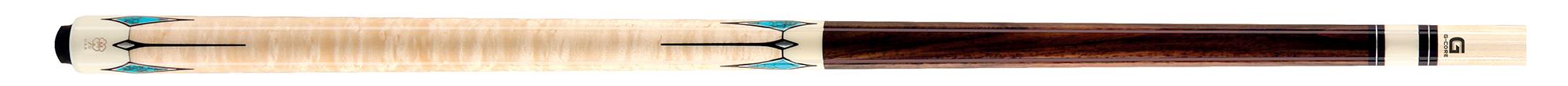 CK0962: McDermott CRM411 Rosewood/Birdseye carom #1