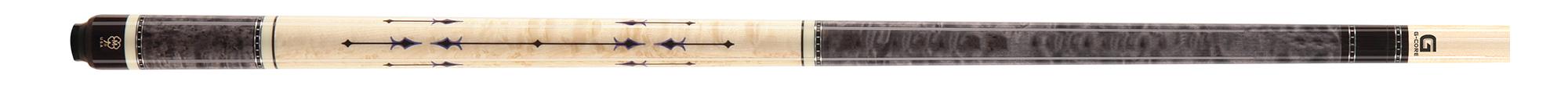CK0963: McDermott CRM418 Birdseye Titanium Grey/inlay carom #1