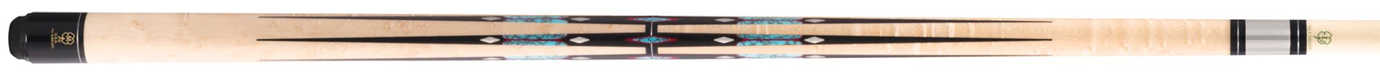 CK0976: McDermott CRMH1050 Birdseye/inlay carom #1