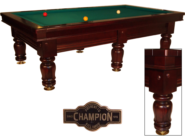 CO0101: Nieuw wedstrijd biljart Champion Classic Competition dark cherry (*met lichte schade)  #1