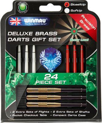 Winmau Giftset Brass