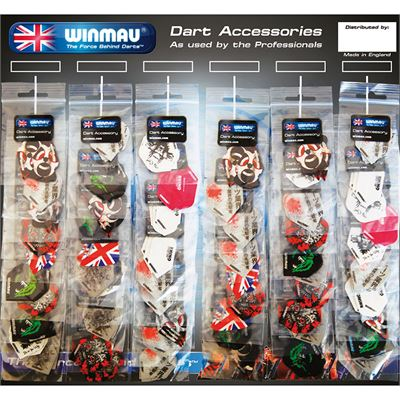 Winmau 60p flight card
