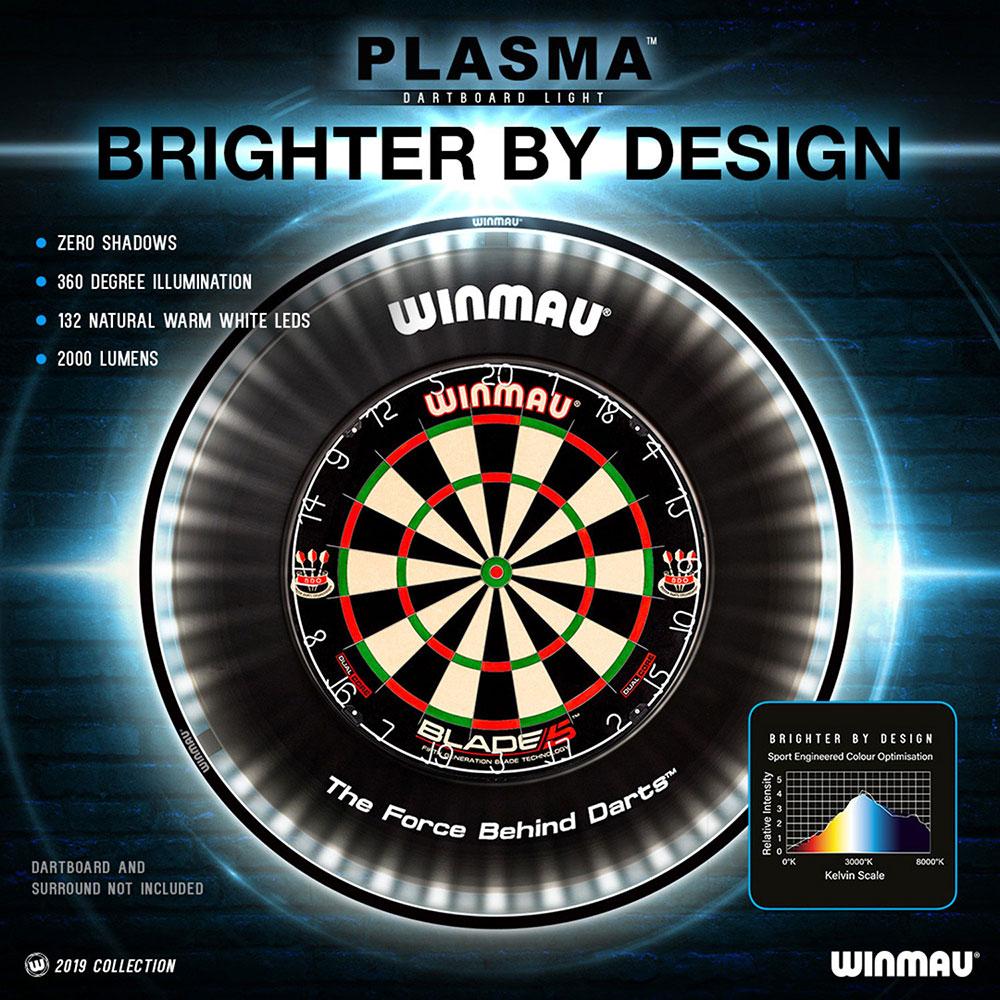 DA0862: Winmau Plasma dartbord light #2