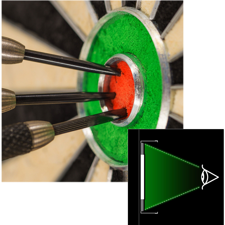 DA0862: Winmau Plasma dartbord light #3