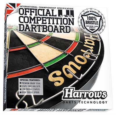 Official Competition Bristle dartbord