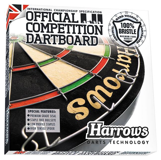 DA1001: Official Competition Bristle dartbord #1