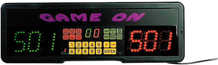 DA1110: Game-On Dart Scorebord Favero #1