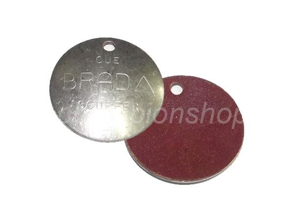 KA0121: rond metalen scuffer basic #1