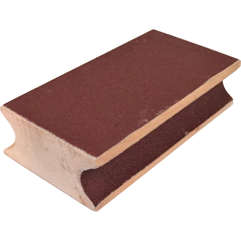 KA0136-NI: NIR schuurblok hout #1
