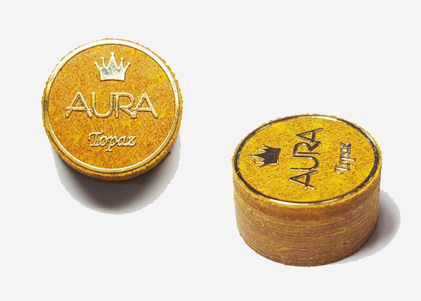KA0167-A9: Aura Topaz pomerans 9 laags #1