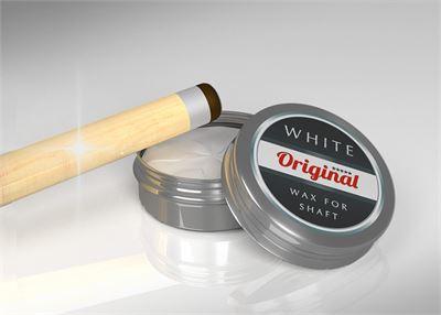 Original Cue Shaft Wax (white)