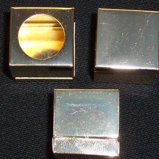 KA0220: Krijthouder vierkant, koper #1