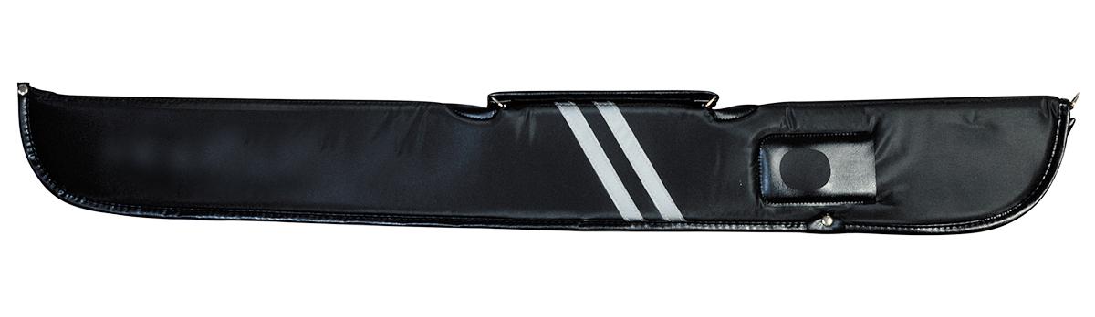 KT0603-BS: Foudraal met rits model black/stripes 1B/1S #1