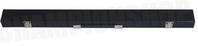 KT0610: Koffer standaard zwart 2-vaks 1/1 #1