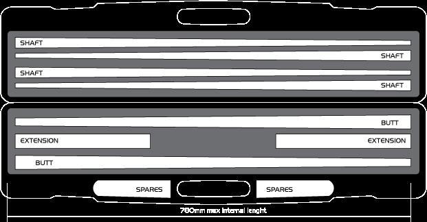 KT0685-CA: Longoni Koffer excl. Model Carlifornia 2/4 ABS met leer #3
