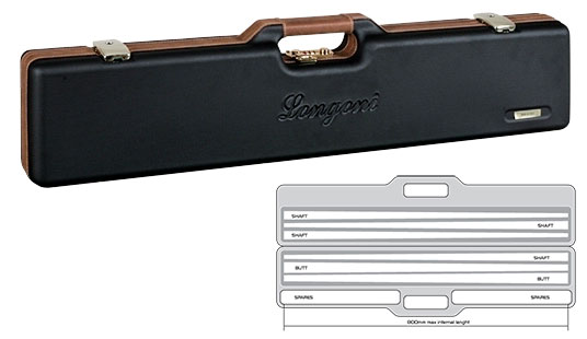 KT0686: Longoni koffer Vintage 2/4 #1
