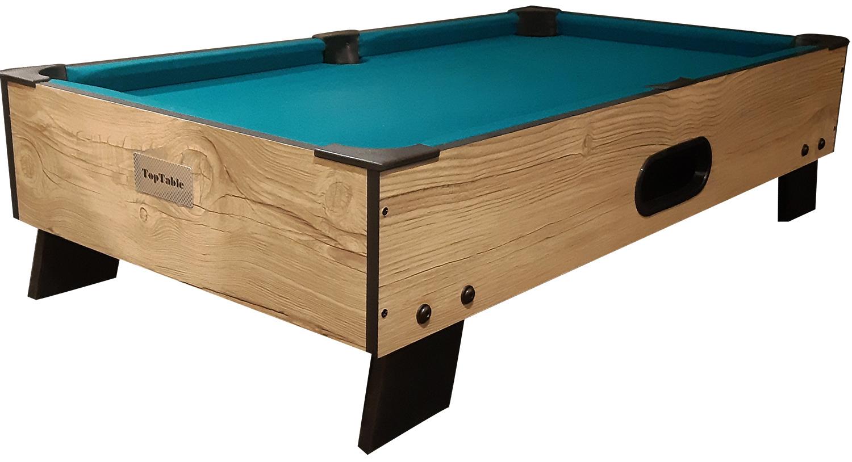 PC0001-W: Pooltafel TopTable 8-ball topper-Wood #1
