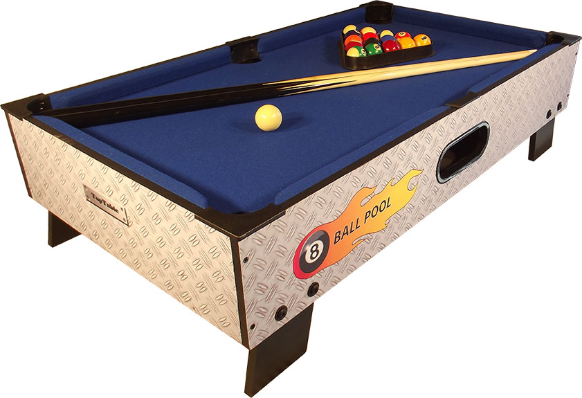 PC0001: Pooltafel TopTable 8-ball topper #1