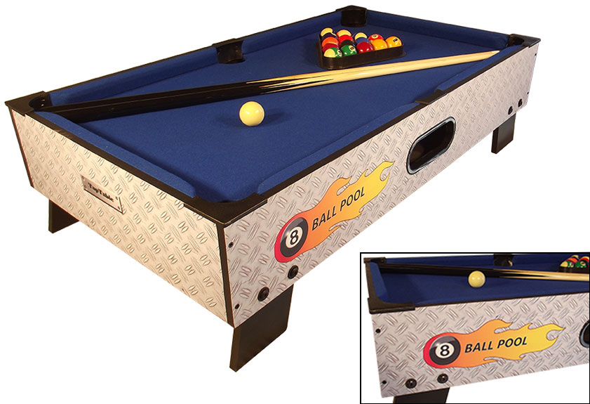 PC0001: Pooltafel TopTable 8-ball topper #2