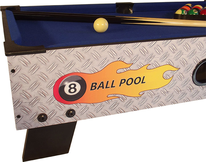 PC0001: Pooltafel TopTable 8-ball topper #3