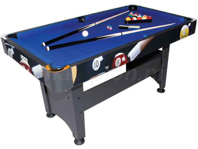 PC0002: Pooltafel TopTable Chicago Poolballs #1