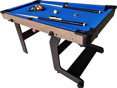 Pooltafel TopTable Fun Fold-Up Wood