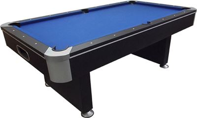 Pooltafel TopTable Challenger, met ball return!