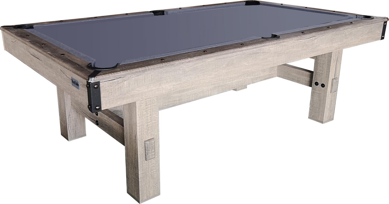 PC0058-6: Pooltafel TopTable Dinner Wood, met banken set #2