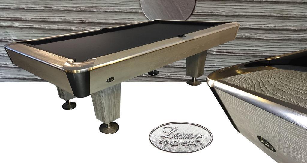 PC0114: Pooltafel Lexor X-treme II Wood-Steel  #1