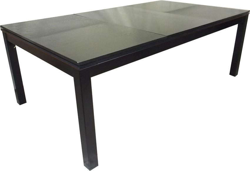 PC0125-6B: Lexor Dinner Black Oak, frame in white,silver or black #2