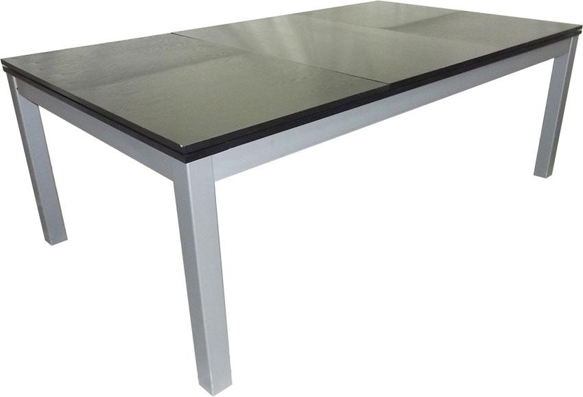 PC0125-6B: Lexor Dinner Black Oak, frame in white,silver or black #6