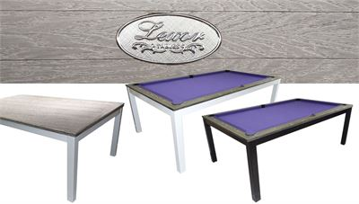 Lexor Dinner Brushed Gray, frame in white,silver or black