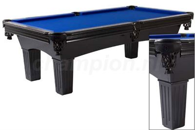 Pooltafel Lexor Remington Satin Black