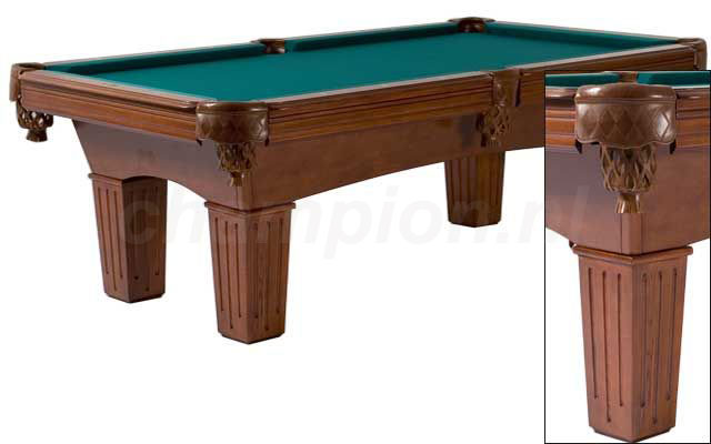 PC0131: Pooltafel Lexor Remington Mahogany #1
