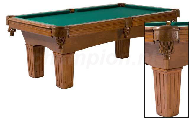 PC0145: Pooltafel LLexor Remington Walnut #1