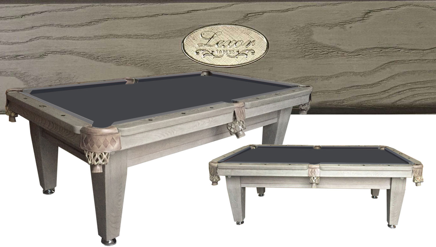 PC0191: Pooltafel Lexor Imperator Competition Old-Grey  #1