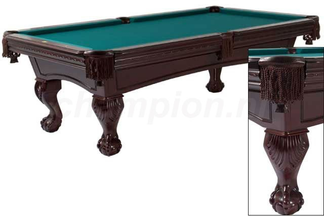 PC0195: Pooltafel Lexor Excelibur mahogany #1