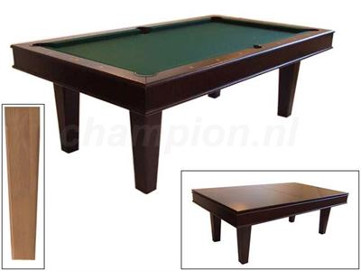 Pooltafel Lexor Da Vinci Castle Oak
