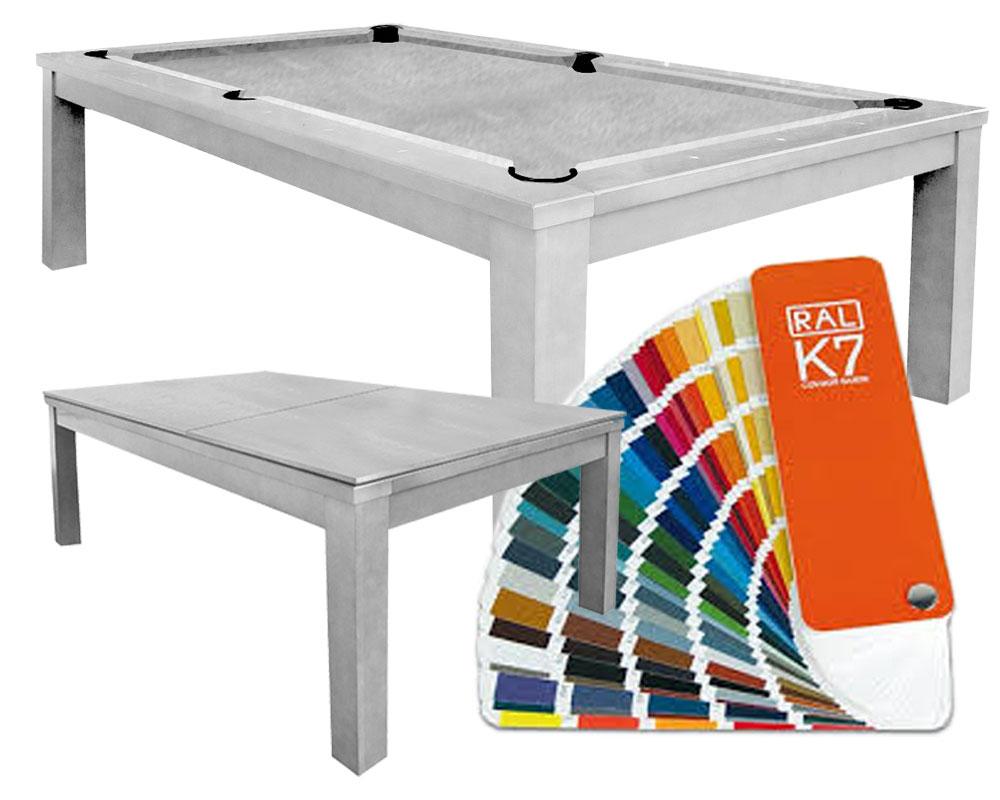 PC0221-K: Pooltafel Lexor Cubic Ral kleur #1